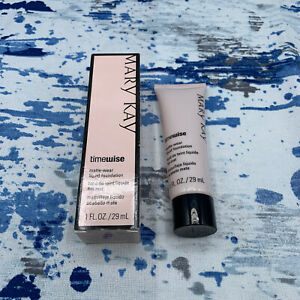 MARY KAY TIMEWISE MATTE-WEAR LIQUID FOUNDATION BEIGE 3 #038759 NEW IN BOX