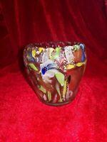 Arte Vetraria Muranese AVeM Tutti Frutti Vase c1950