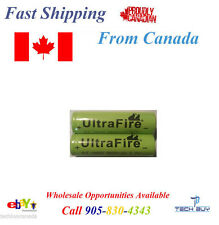 Ultrafire Rechargable Li-ion Battery 18650 8800mAh 3.7V Set of 2pcs