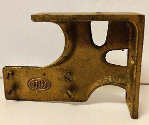 """Vintage Cast Iron CORBIN Corner Bracket for Door Closer for 26-1/2"""""""