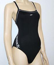 Speedo Badeanzug Damen Brustunterstützung schwarz schnelltrocknend Endurance®+