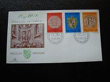 VATICAN - enveloppe 1er jour 29/4/1970 (cy32) (A)