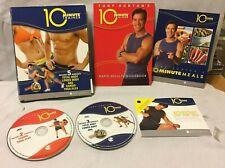 10 Minute Trainer workout DVD set program Tony Horton fat burning system meal pl