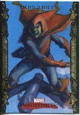 Marvel Masterpieces 2007 UD Gold Border Parallel Base Card #36 Hobgoblin