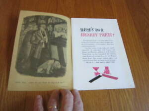 CARSTAIRS Whiskey PARTY BOOK excerpts from ESQUIRE DRINK BOOK 1950s Recipes