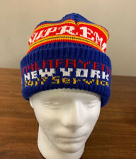 SUPREME SERVICE BEANIE, ROYAL BLUE OS FW19, BRAND NEW AUTHENTIC (IN HAND)