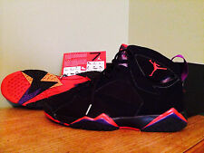 Nike Air Jordan XII 7 Retro Raptor w/retro card sz11 Black-True Red Purple