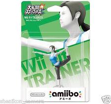 Brand New Nintendo Wii Fit Trainer amiibo Figure Wii U 3DS Super Smash Bros.