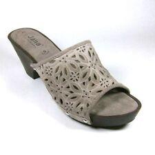 Women's Suede Block Mid Heel (1.5-3 in.) Sandals & Beach Shoes