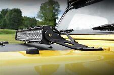 "Jeep Wrangler TJ 20"" LED Hood Mounted Light Bar Kit - 9600 Lumens 97-06"