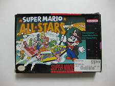 NINTENDO SNES Super Mario All-Stars GREAT CONDITION!!