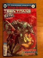 TEEN TITANS 12 2nd PRINT VARIANT DARK METAL TIE IN 1st BATMAN WHO LAUGHS NM