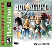 Final Fantasy IX [PlayStation 1 PS1, FF 9, Classic Turn-based JRPG] NEW