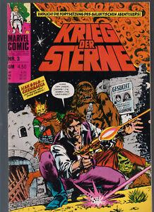 Krieg der Sterne Comics 1978 Hefte 1-3 Star Wars Einzelhefte Williams Marvel