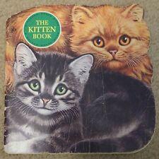 Vintage Book The Kitten Book A Golden Shaped Book Jan Pfloog