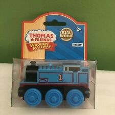 NEW RARE THOMAS AND FRIENDS WOODEN RAILWAY THOMAS TRAIN FREE SHIPPING