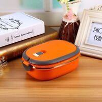 1-teillig Edelstahl Thermo Lunchbox Speisebehälter Essen Isolier Container h0m13