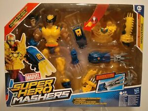 2014 Marvel Super Hero Mashers Wolverine Light Up Figure New In Box