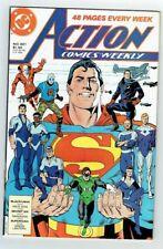Action Comics Weekly #601 (DC Comics) 1988 F-VF features Superman,Green Lantern