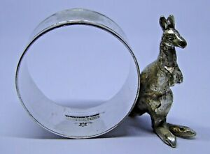 Superb Good Quality Vintage Australian S&S EPNS Silver Plated Napkin Ring Ref#C