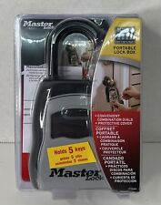 Master Lock 5400D Set Your Own Combination Portable Lock Box, 5 Key Capacity