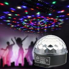 Digital LED RGB Crystal Magic Ball Stage Effect Light DMX 512 Disco DJ P8J9
