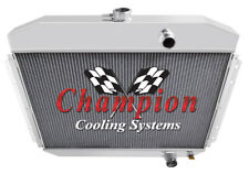 2 Row Ace Champion Radiator for 1961 62 63 1964 Ford F-Series 6 Cylinder Engine