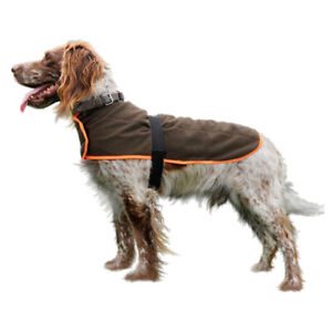 Hubertus Hunde-Abschwitzdecke Fleecedecke mit Membrane Drückjagd