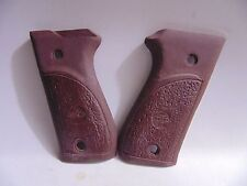 For Bersa 85,380 CAL Pistol grips (NEW) Chocolate, VERY HARD TO FIND GRIPS