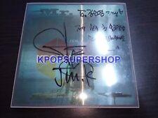Jun. K Mini Album Vol. 1 Mr. No Autographed Signed Promo CD  2pm 1st