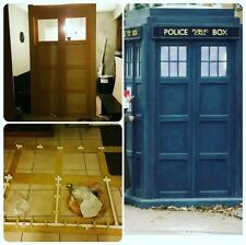 Dr Who Tardis Lifesize Build Plans London Police Box & Photos Over 30 pages