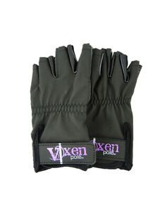 Vixen Pole Dance Gloves (Tacky) like Mighty Grip also for Yoga Safety (1 Pair)