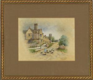 Christopher Hughes - Contemporary Watercolour, Chipping Campden
