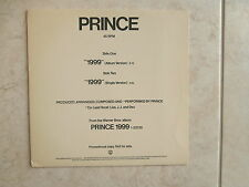 "PRINCE ~ ** 1999**~  PROMO ~  FUNK  12"" SINGLE"