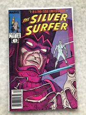 Silver Surfer 1 and 2 (1988). Moebius.  NM- and VF Copies