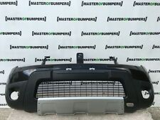 DACIA DUSTER 2010-2013 FRONT BUMPER IN BLACK WITH LIP SPOILER AND GRILL