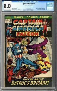 Captain America #149 CGC 8.0