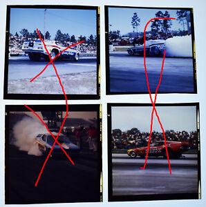 Lot of 4 Large Format Color Transparencies Sammy Miller (2), Stardust, Brand X