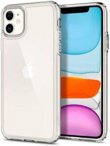 iPhone 11 Hülle Crystal Clear Spigen Ultra Hybrid Handyhülle Schutz Kratzer OVP