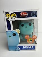 Funko Pop! Disney Store #04 Sulley Flocked SDCC 2011 Exc. 480 LE W/Hard Stack