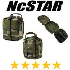 VISM EMT Military MOLLE Utility Pouch Bag Aid Kit Woodland Camo