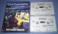 CHARLES DICKENS GREAT EXPECTATIONS Double cassette audio book A40