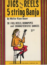 New listing Jigs and Reels for 5-String Banjo 50 Jigs, Reels, Hornpipes, Dances
