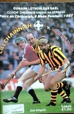 GALWAY V KILKENNY 6/9/1987 GAA ALL IRELAND HURLING FINAL