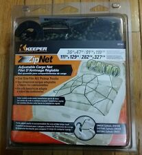 New CARGO NET Keeper Brand 03141 ZipNet Adjustable Camo Black Truck FREE SHIP