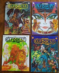 8 BOOK COMIC LOT ELFQUEST WARP COMICS 1ST PRINT