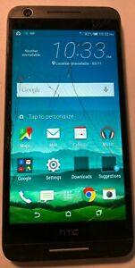 HTC Desire 625 Fast Ship (Cricket) White Cell Phone Cracked Glass