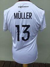 GERMANY HOME SHIRT 2016-2017,THOMAS MULLER..SIZE XL WOMENS