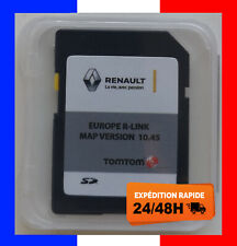 RENAULT R-LINK Europe 10.45 CARTE SD TOMTOM GPS 2020