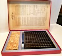 Scrabble RSVP 3 Dimensional Crossword Game (1966) Selchow & Righter